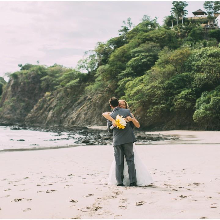 Erika and Justin Costa Rica Wedding - Playa Flamingo, Guanacaste - {Costa Rica Destination Wedding Photographer}