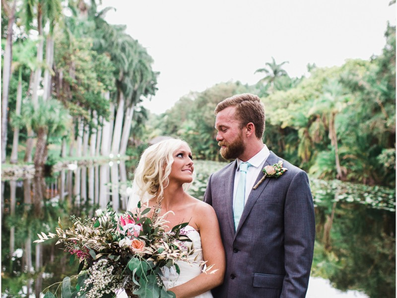 Erica and Roman - Bonnet House Wedding - {Ft. Lauderdale Wedding Photography