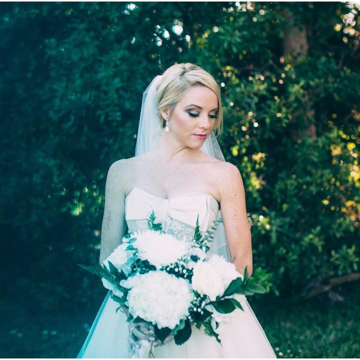 Bailey and Will Intimate Backyard Wedding- {South Florida Wedding Photographer}