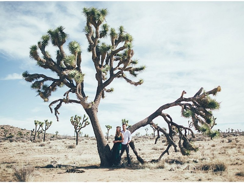 Hannah and Josh Adventure Session {Joshua Tree National Park Engagement Photography}