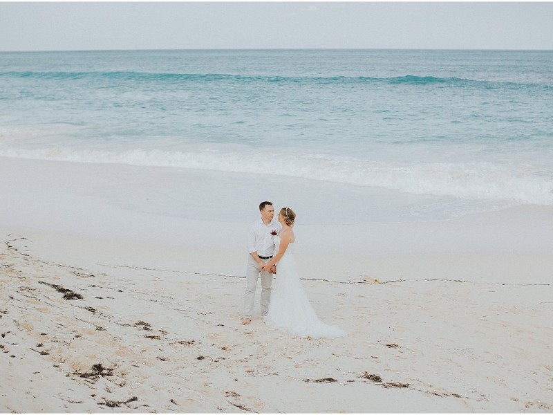 Tessa + Adam {Abaco Bahamas Wedding Photography}