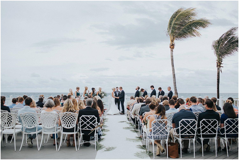 south florida tropical wedding
