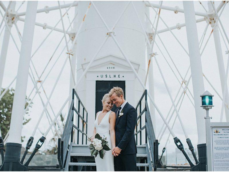 Maddie + Tanner - Tropical Hillsboro Club Wedding {South Florida Wedding Photographer}