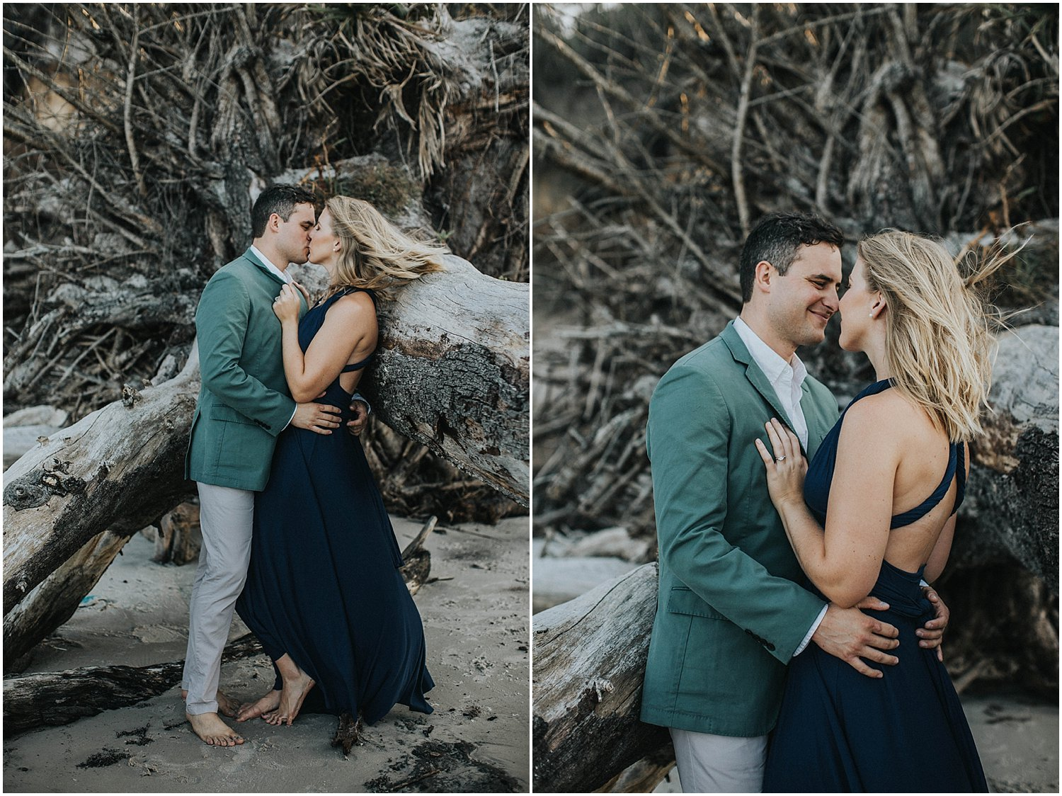 big talbot island engagement
