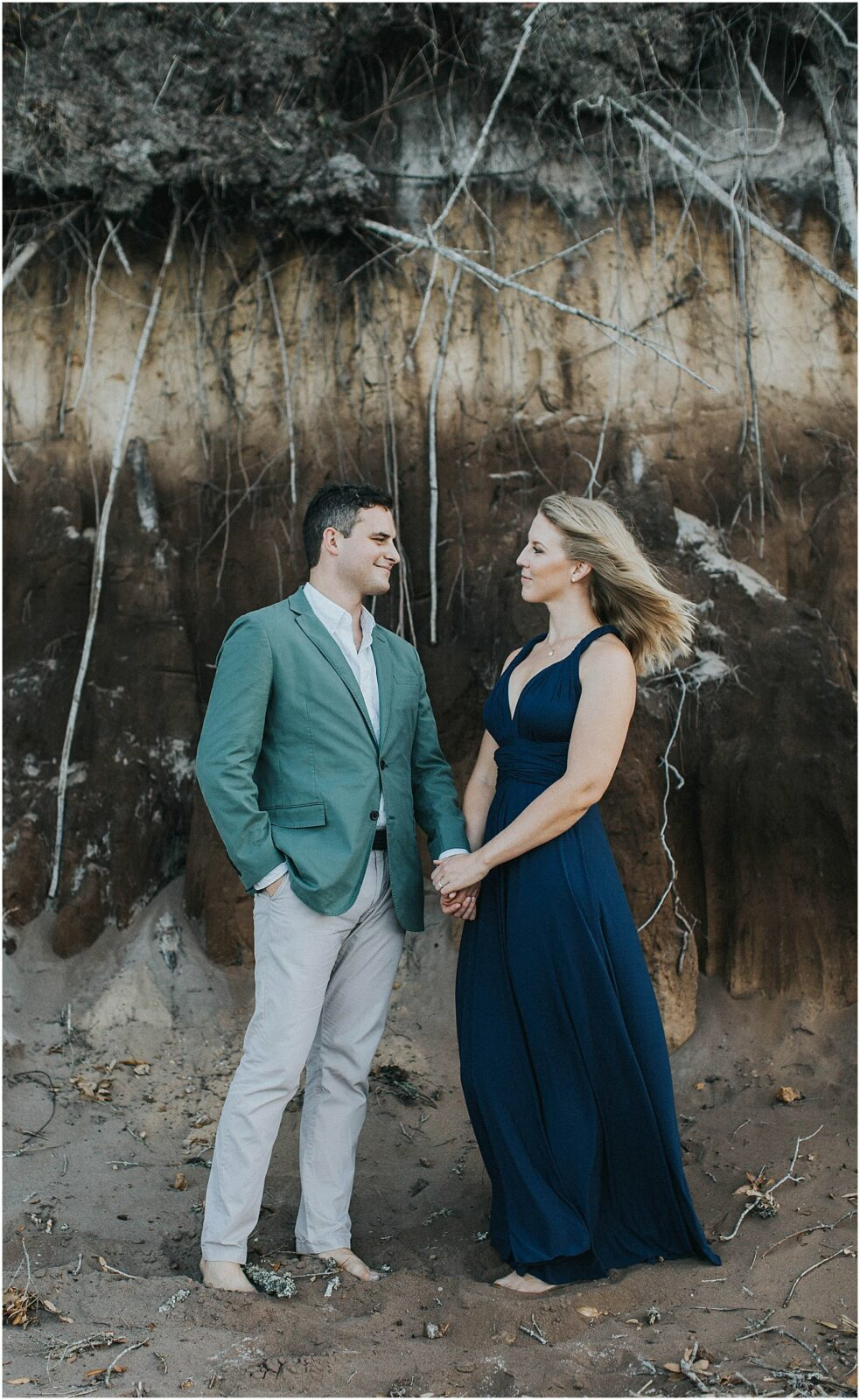 unique engagement photography