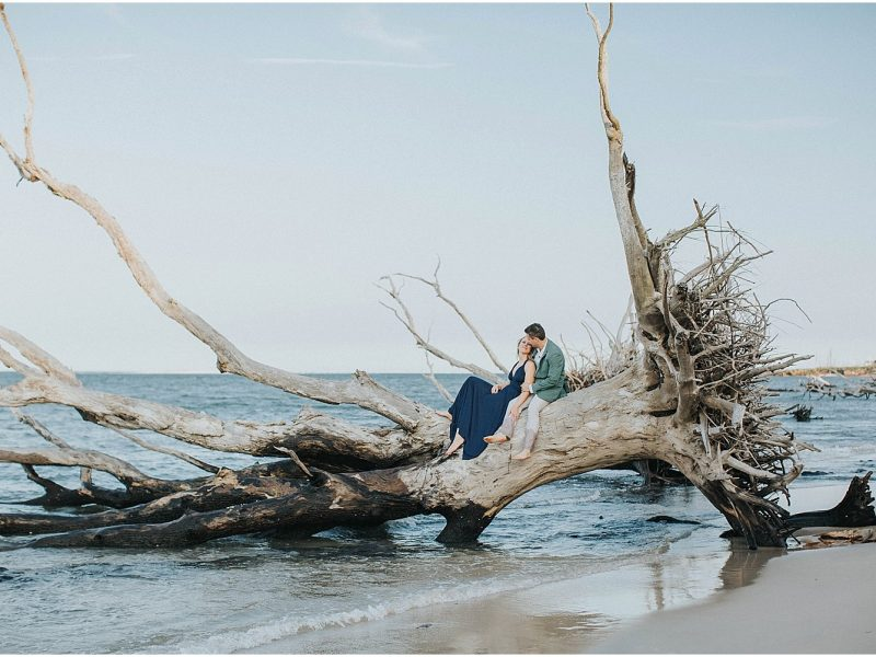Brenna + John - Talbot Island Engagement - {North Florida Engagement Photographer}