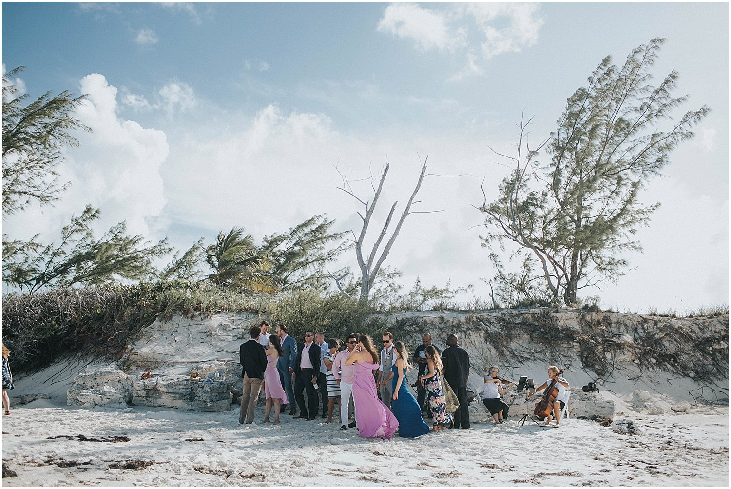 intimate bahamas wedding