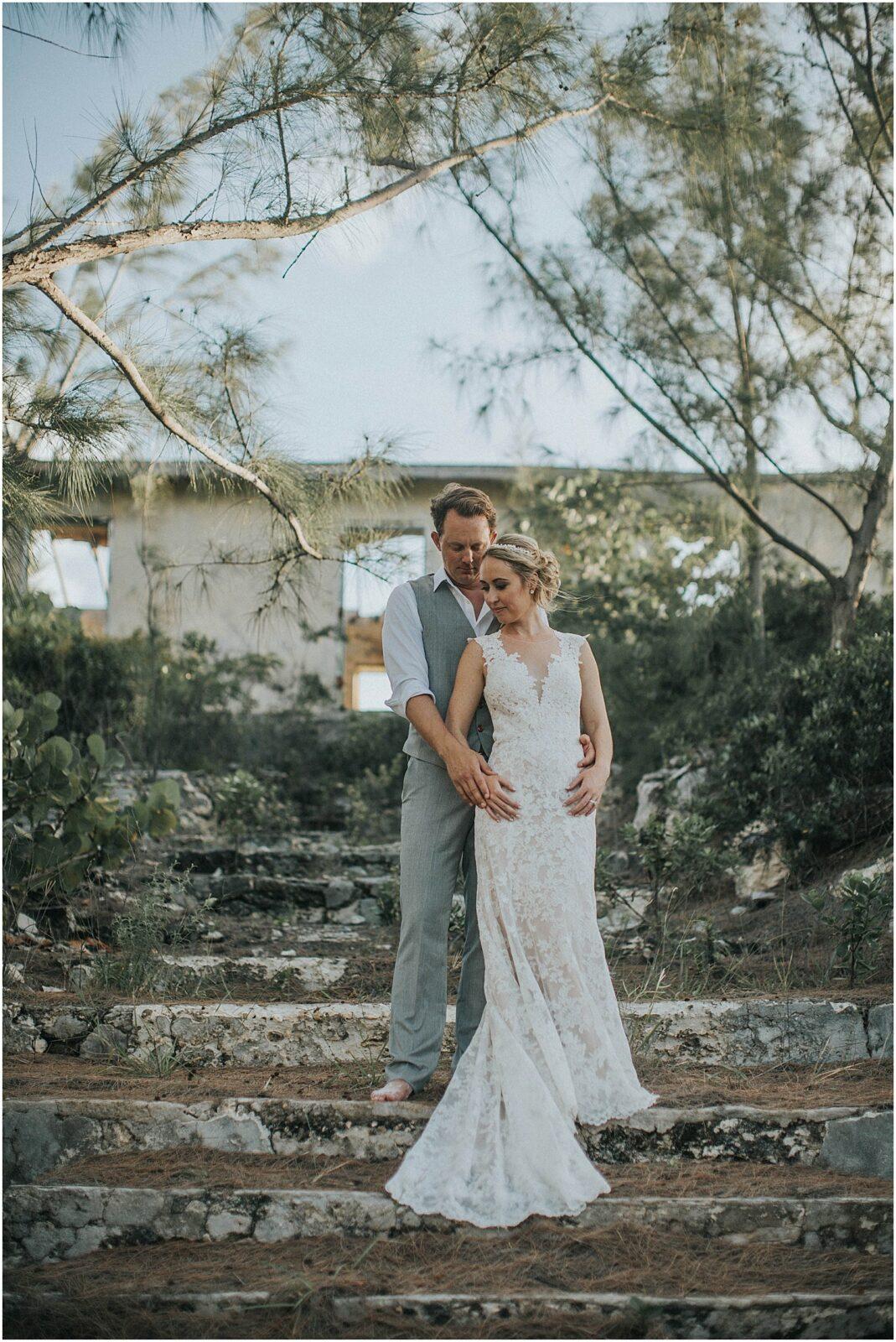 intimate wedding portraits