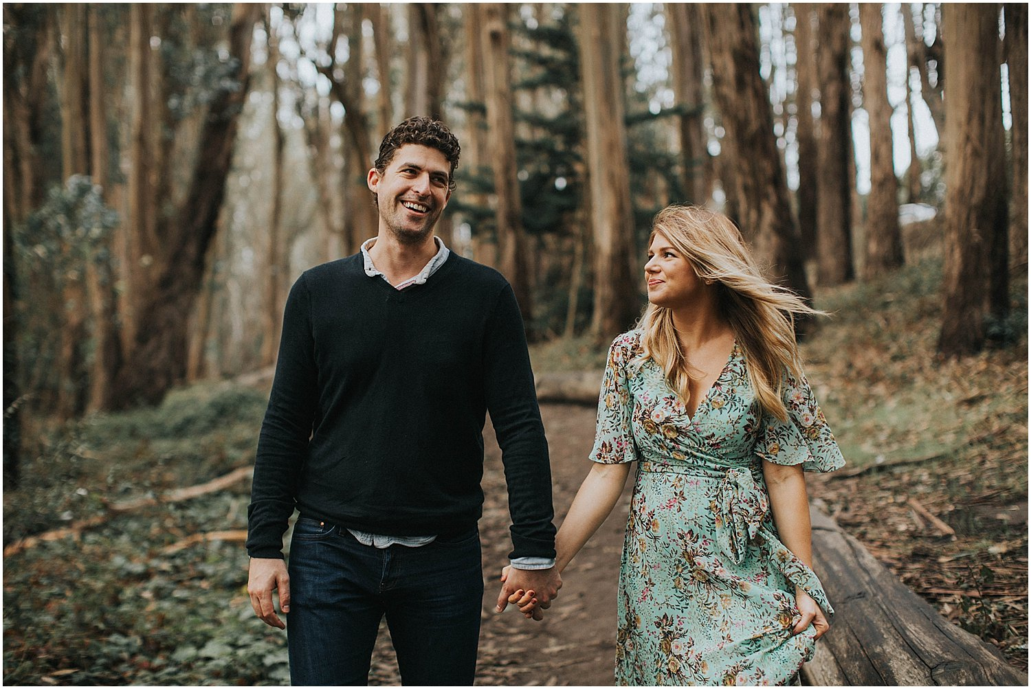 california engagement portraits