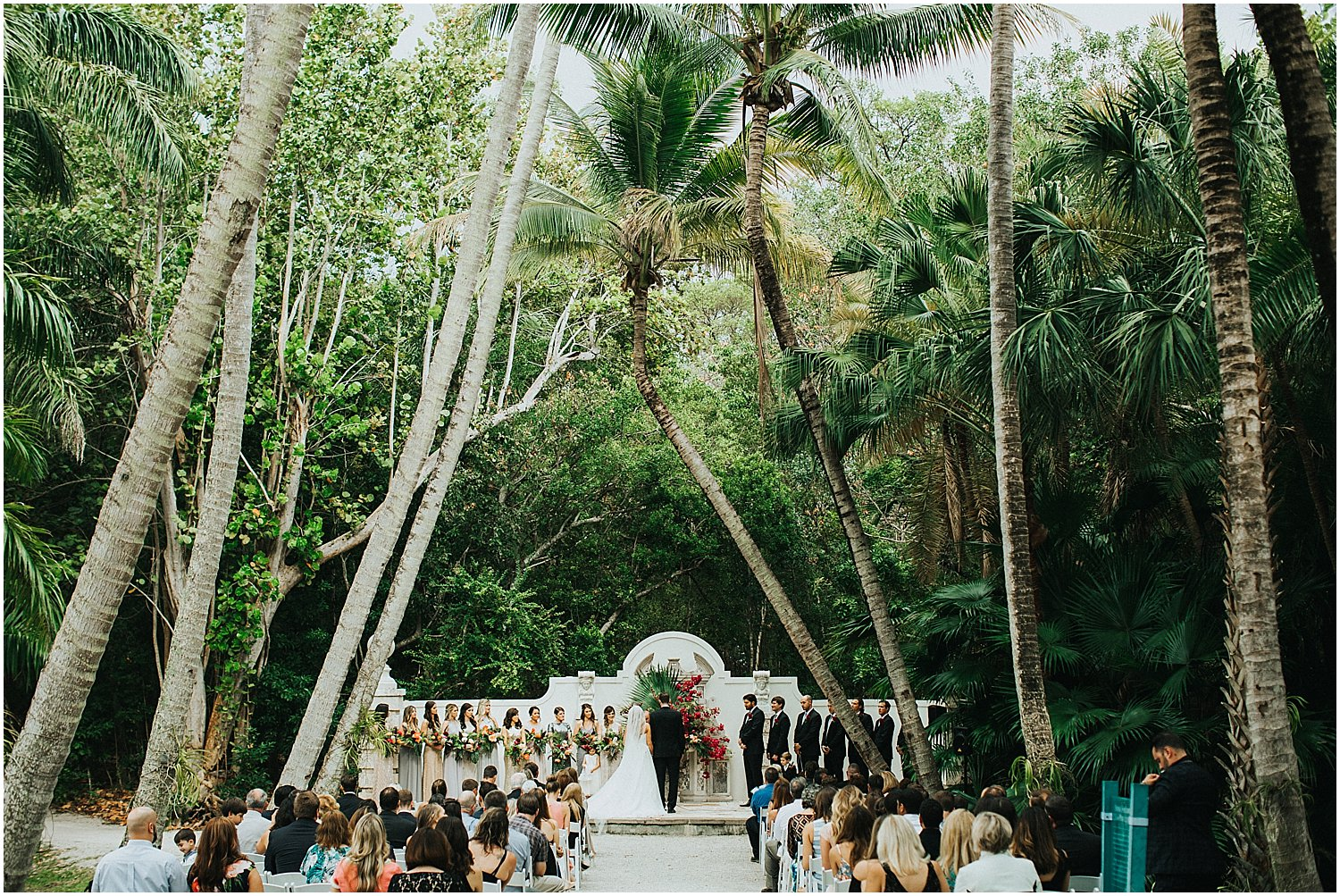 tropical florida wedding venue