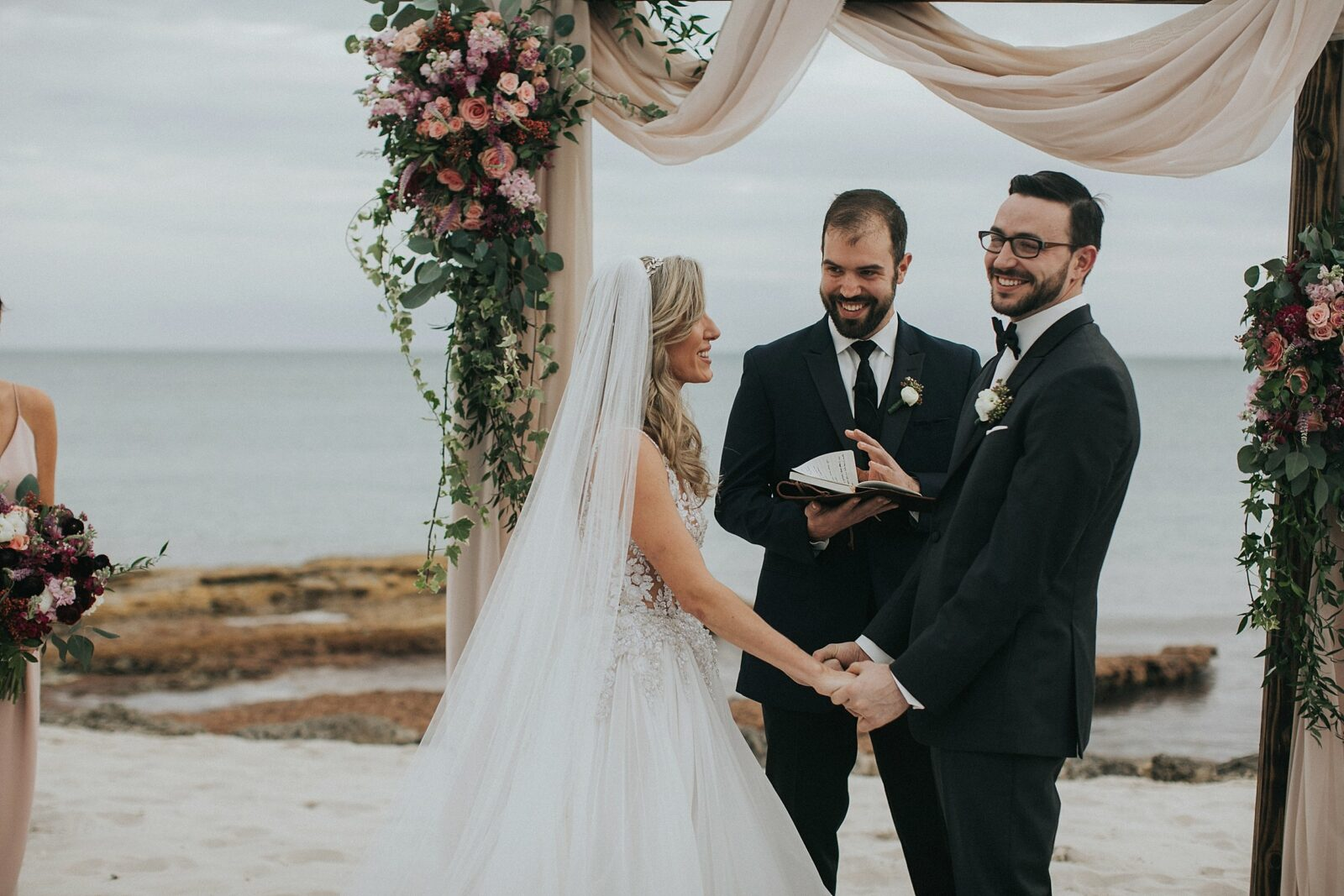 beach side keys wedding