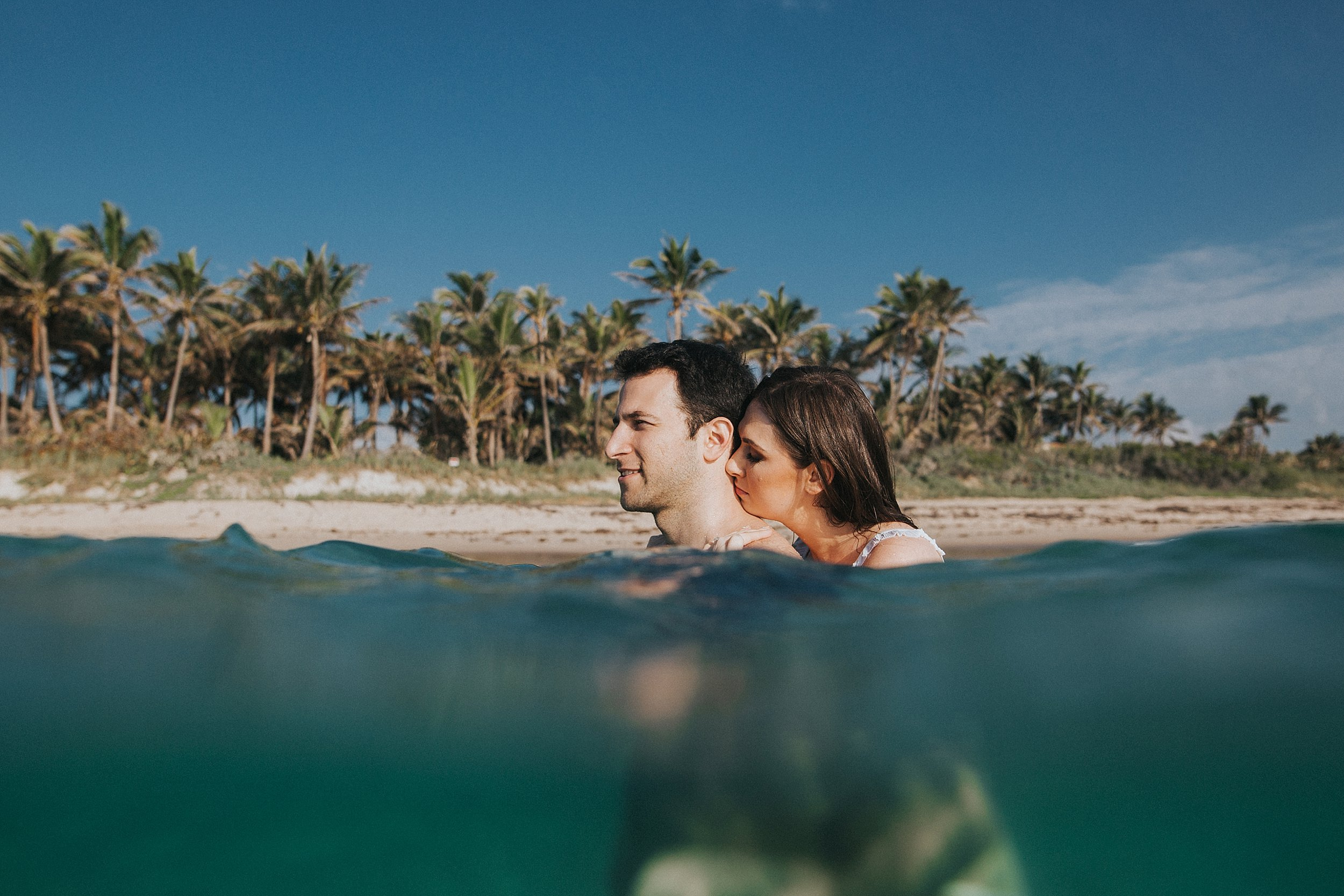 underwater engagement photography