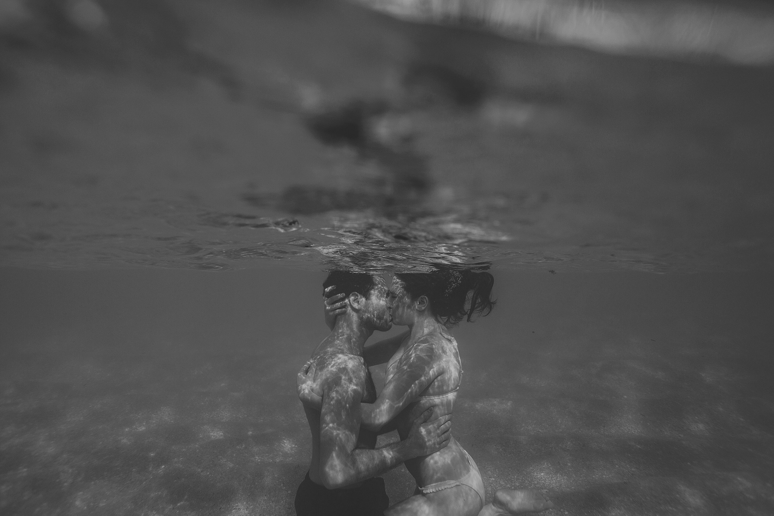underwater engagement photographer