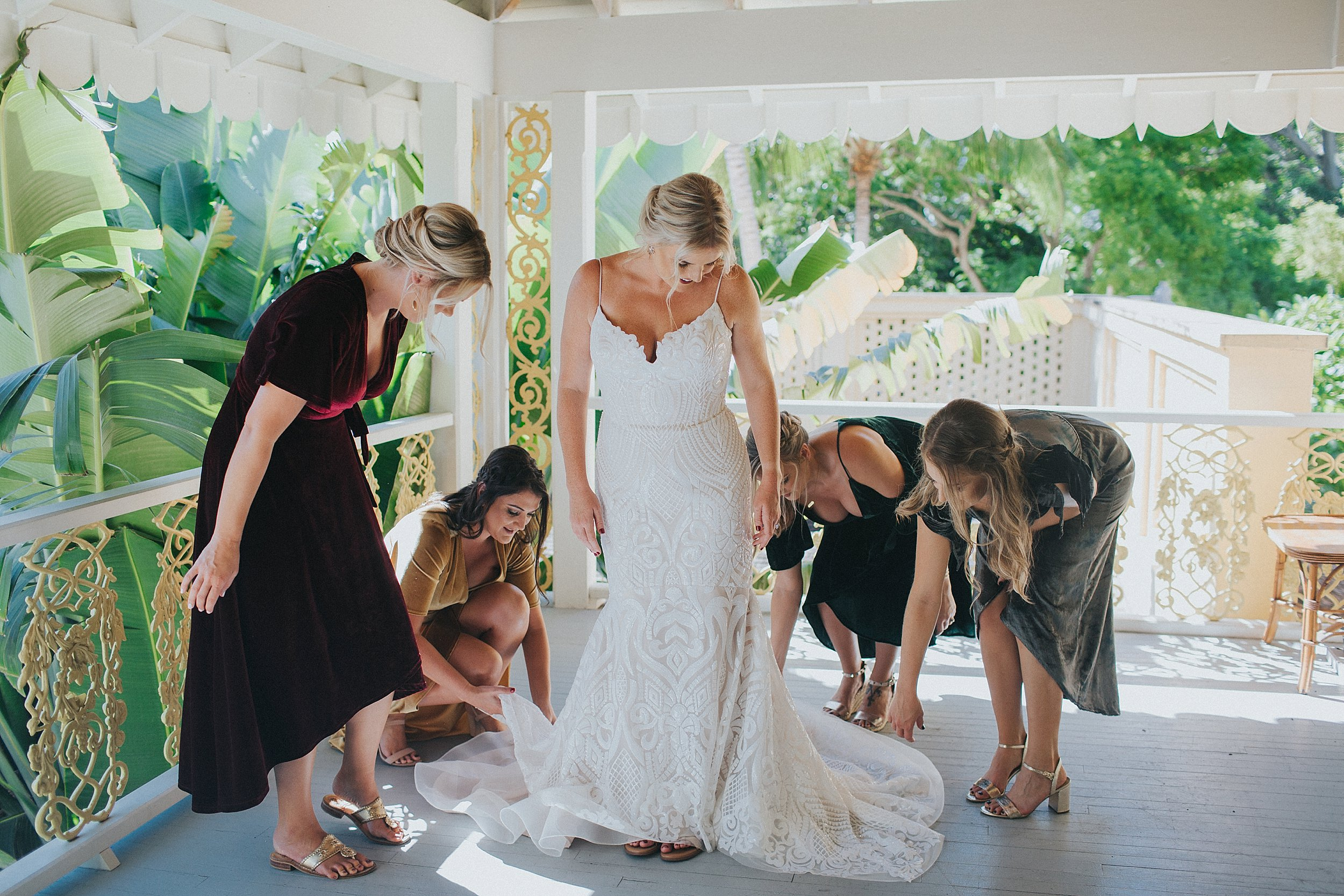 jewel tone bridesmaids dresses