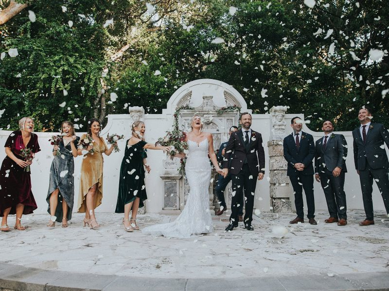 Lauren + Josh Bonnet House Wedding - {South Florida Wedding Photographer}