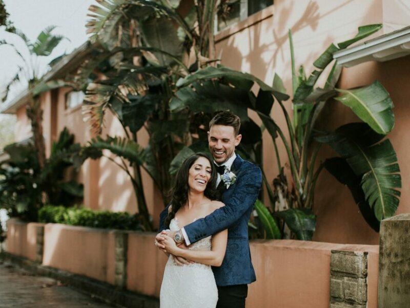 Kasey + Devon St. Augustine White Room Wedding {North Florida wedding photographer}