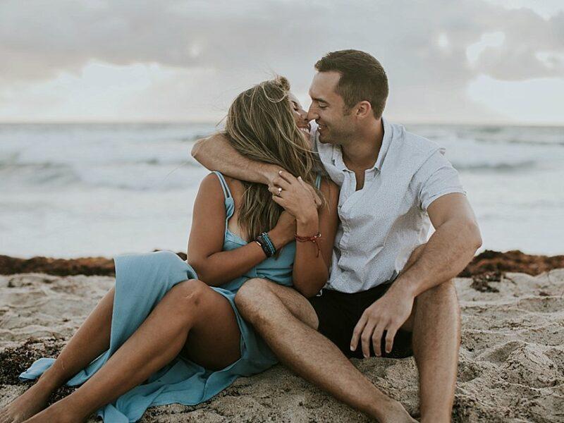 Yeni + Alec Romantic Sunrise Adventure Session - {Florida Engagement Photographer}