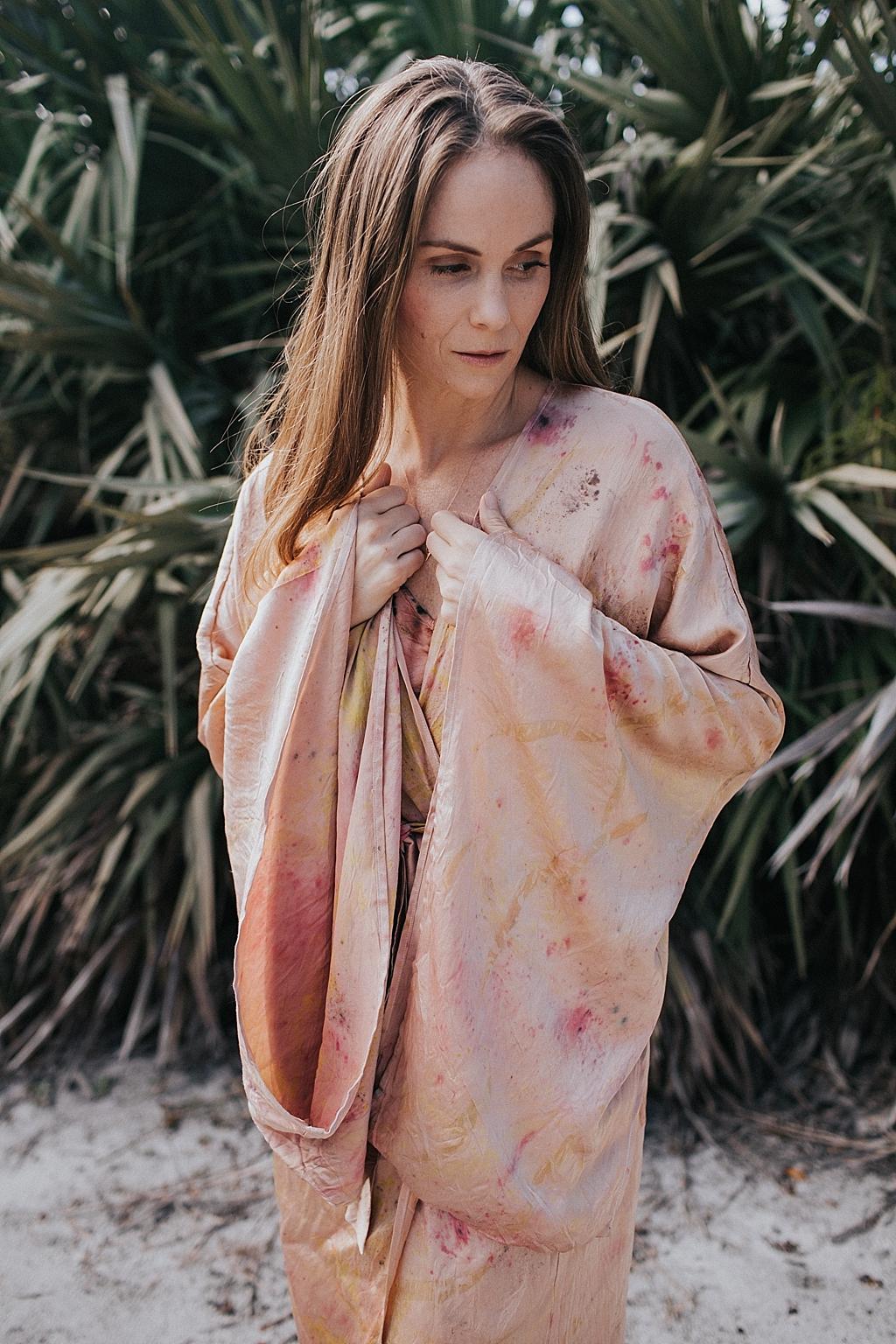 hand dyed kimono