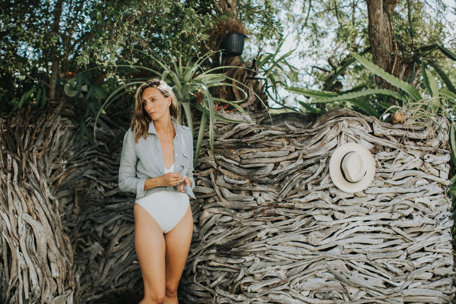 driftwood outdoor shower eleuthera bahamas