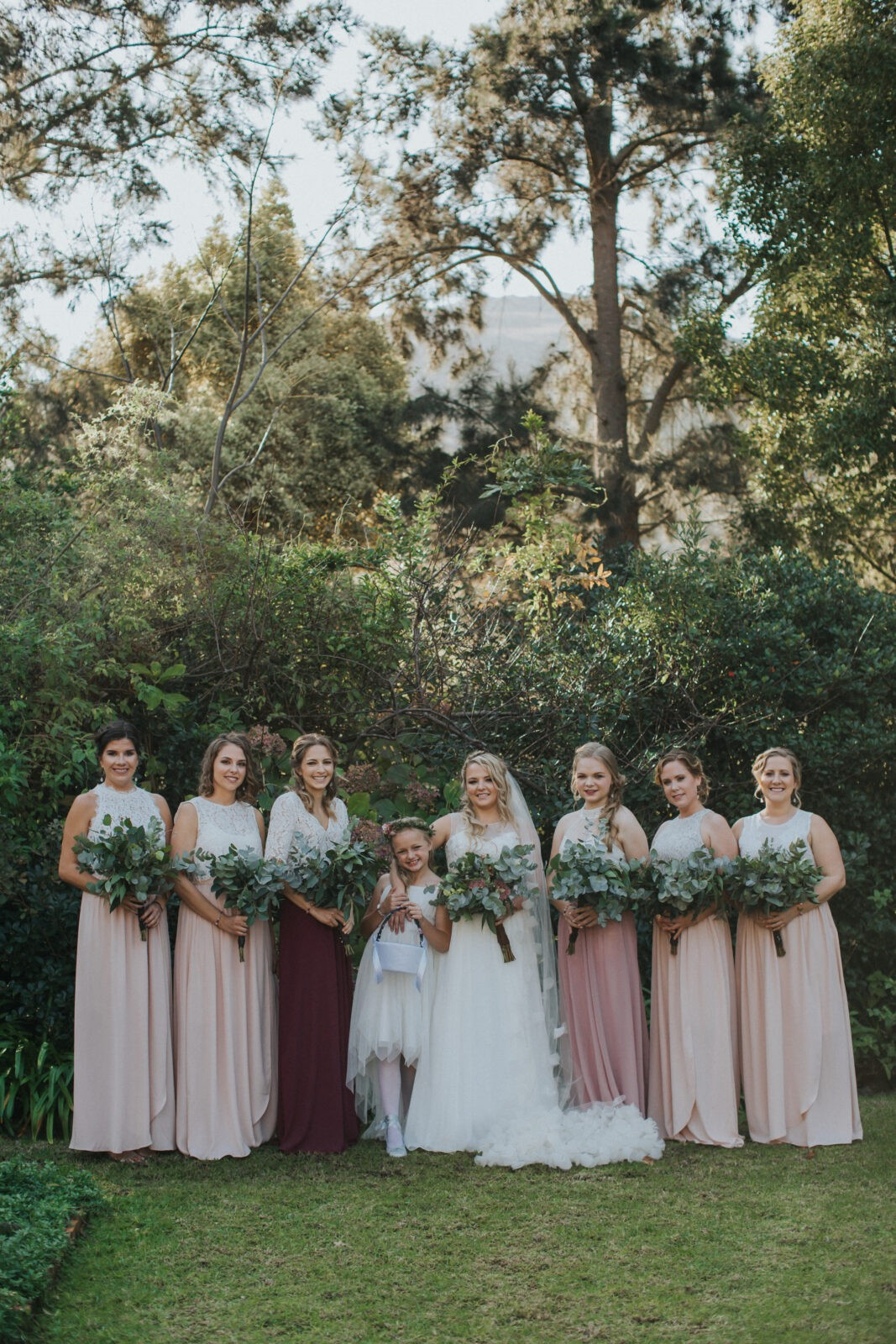 destination wedding bridesmaids south africa