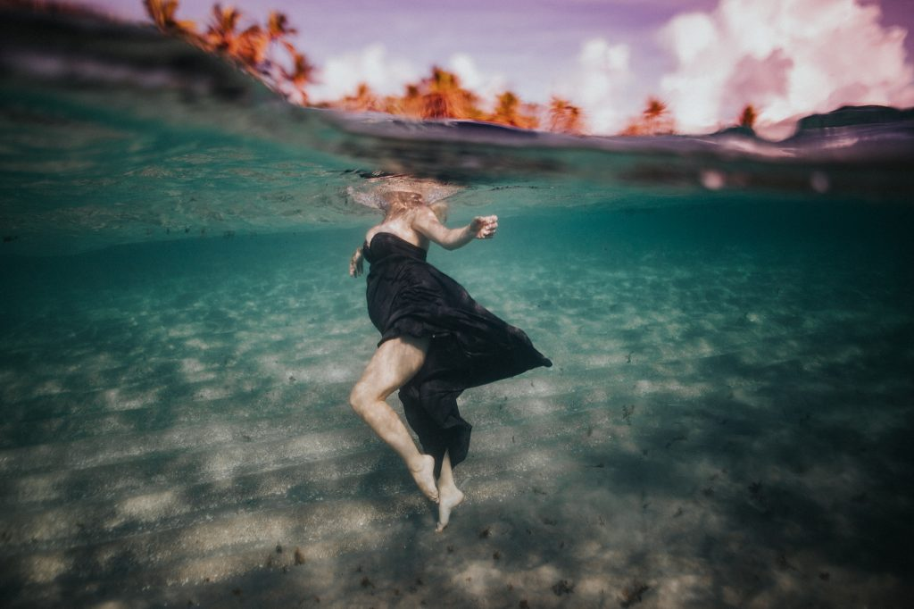 florida underwater maternity photos