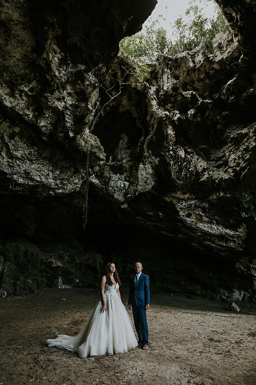 Eluethera bahamas elopement