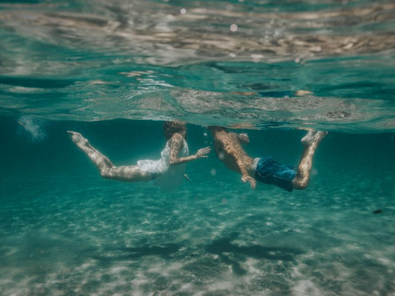 Lauren + Tim - Underwater Engagement - {South Florida Underwater Lifestyle Photographer}
