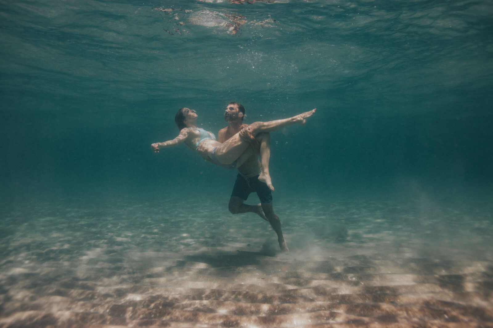 florida underwater engagement