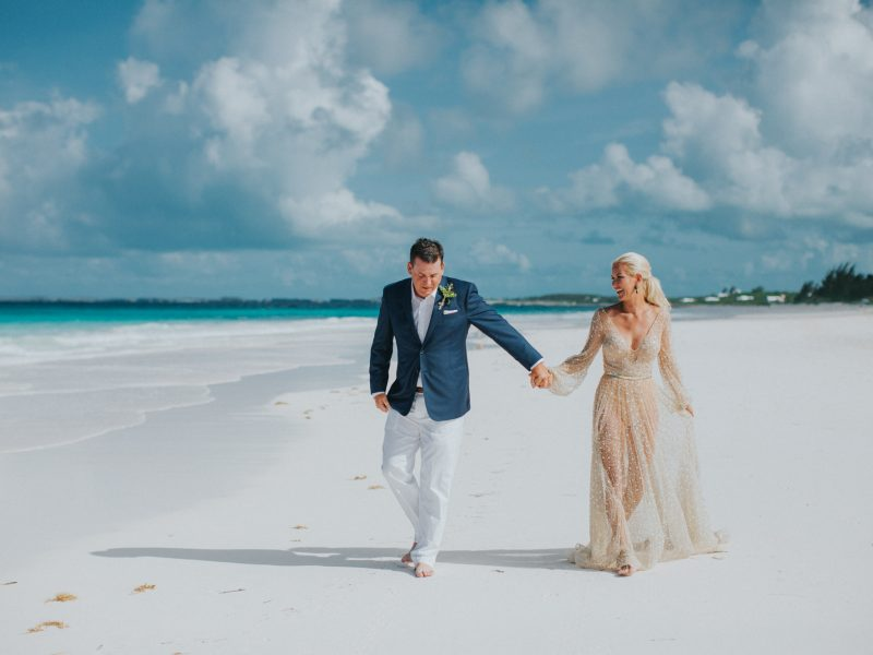 Lea + Jim Harbour Island Wedding - {Bahamas Wedding Photographer}
