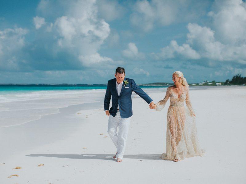 Lea + Jim Harbour Island Wedding - {Bahamas Wedding Photographer}
