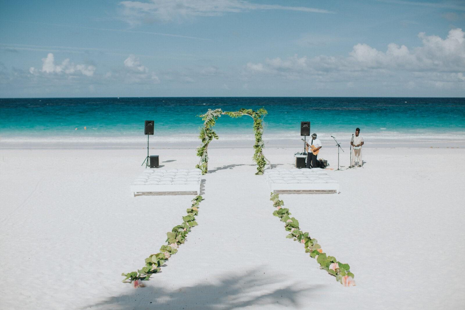 ocean view club wedding harbour island bahamas