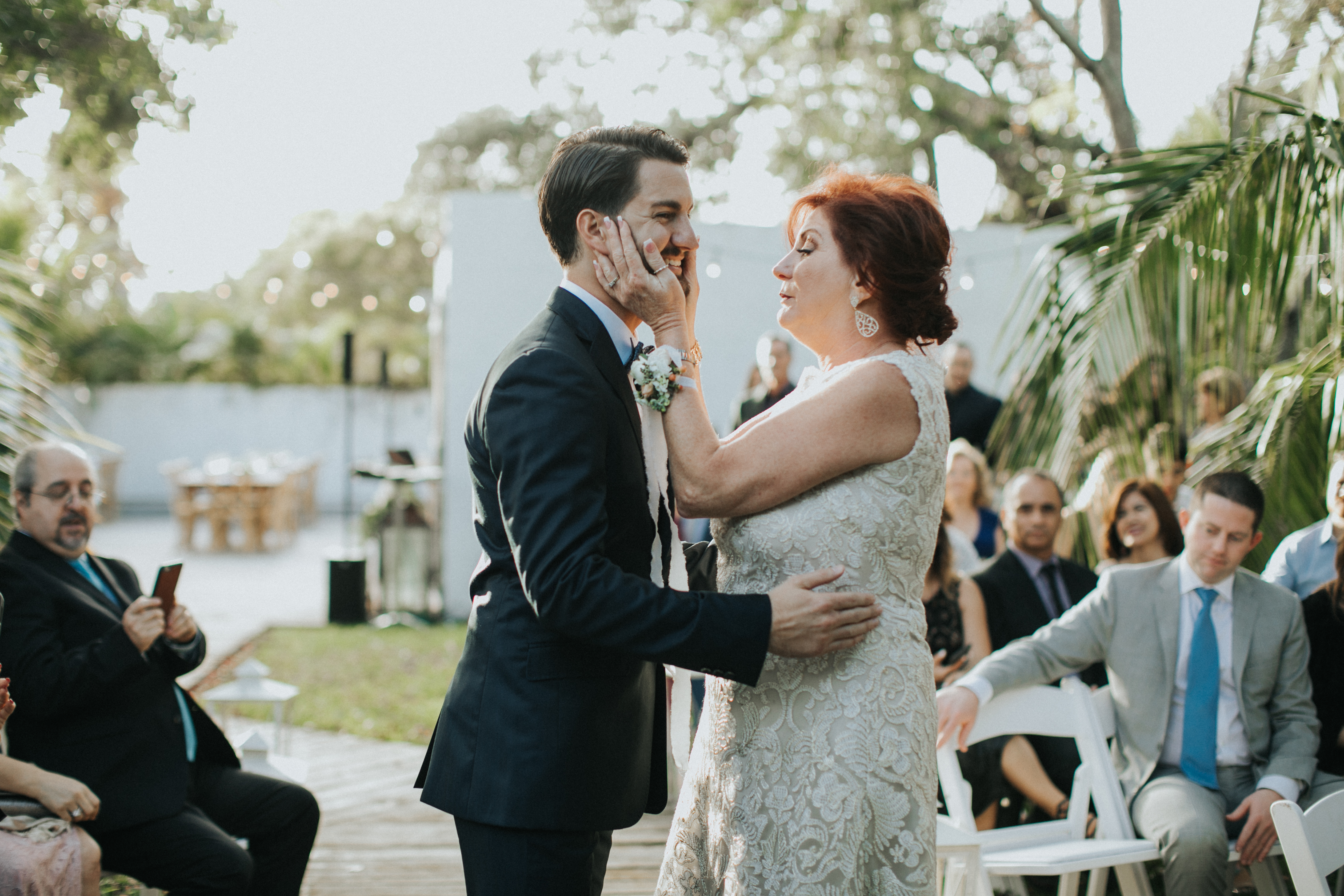 rustic miami wedding