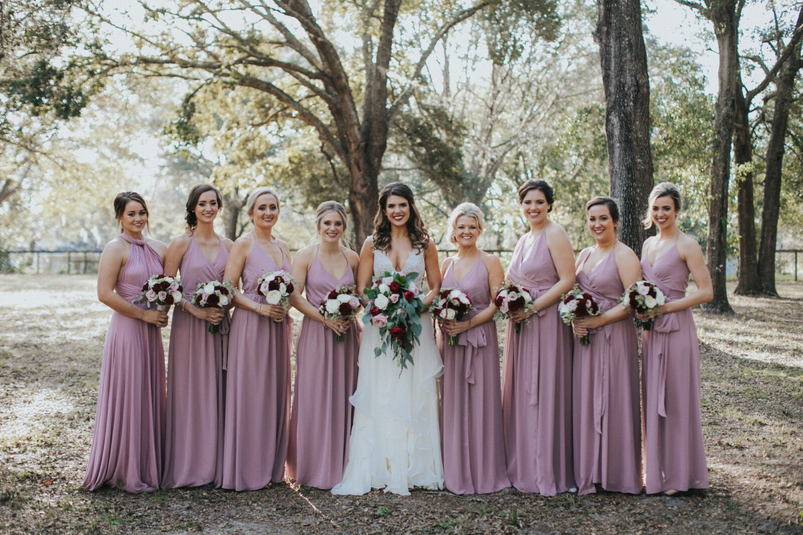 arundel estate wedding bridesmaids