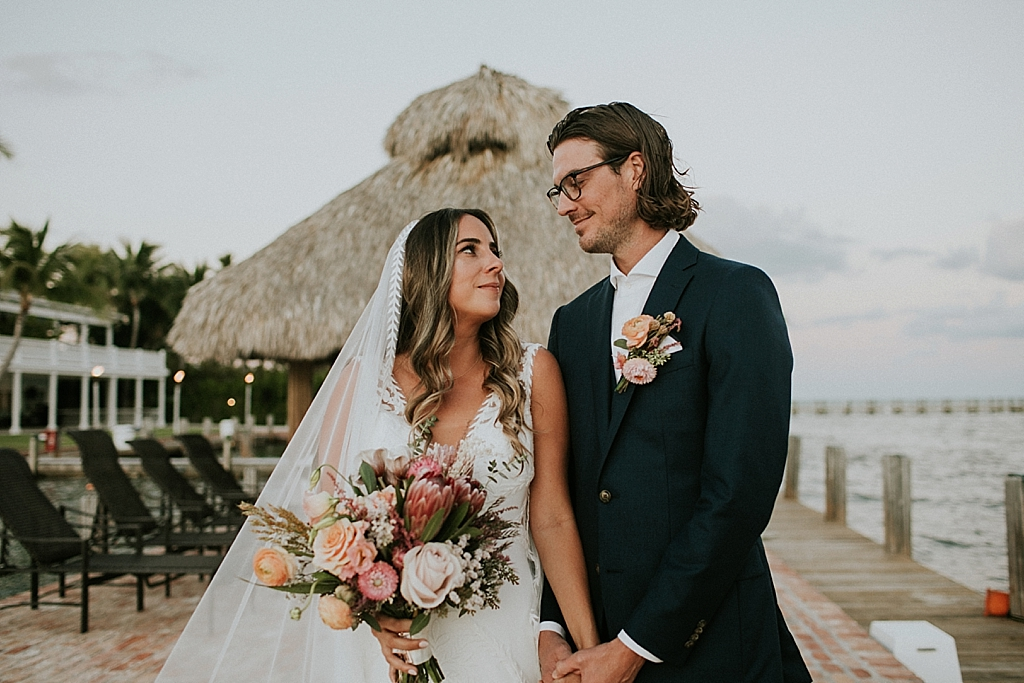 caribbean resort boho wedding