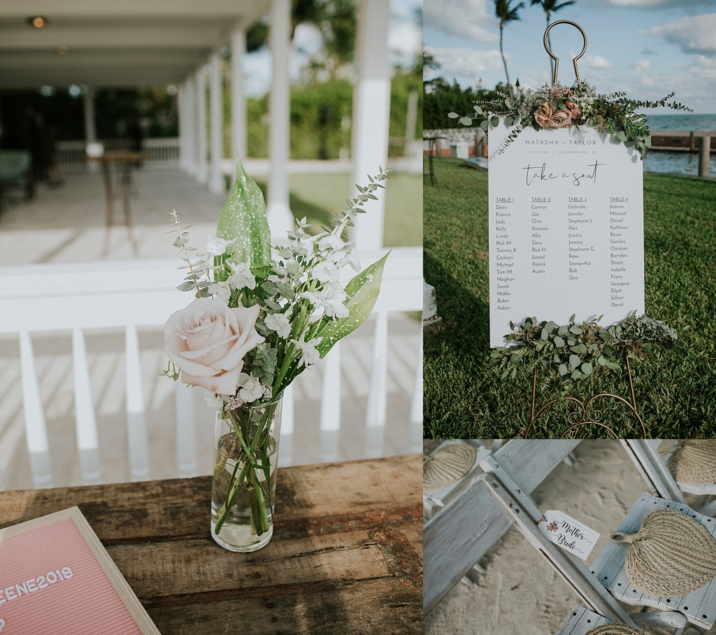 tropical florida keys wedding