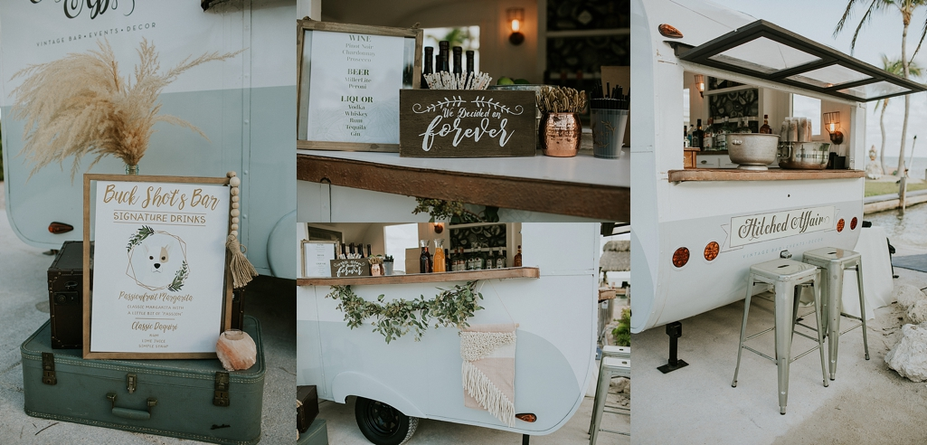 mobile wedding bar a hitched affair