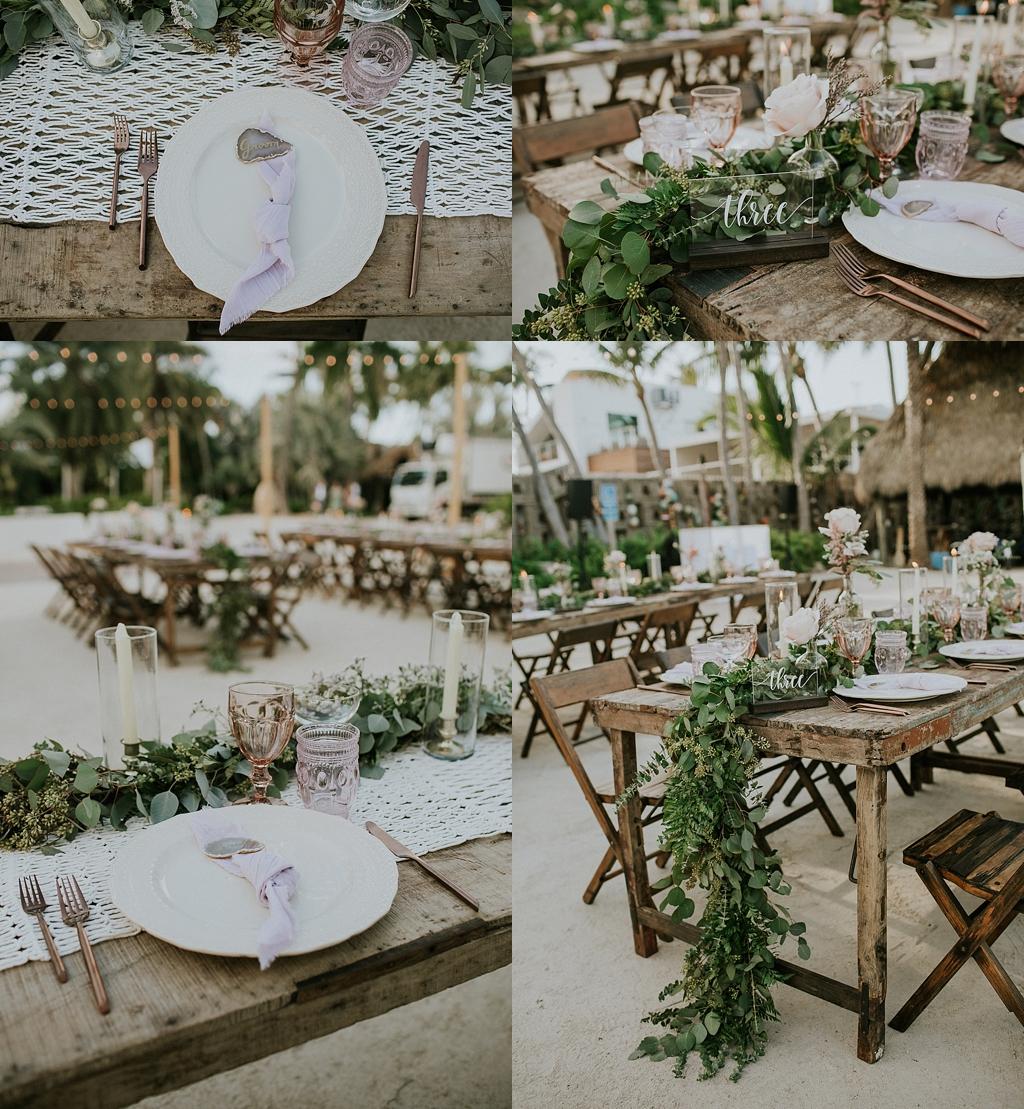 florida keys wedding reception inspiration