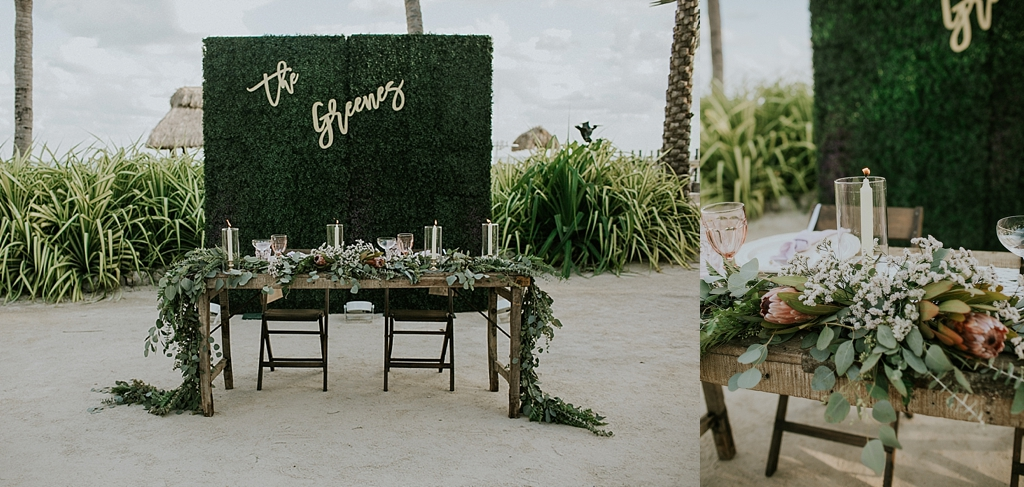 tropical wedding details caribbean resort wedding