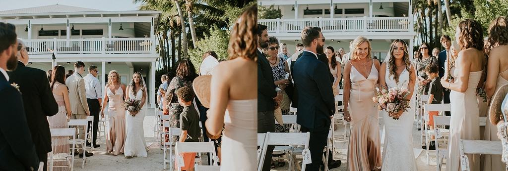 emotional wedding at the caribbean resort