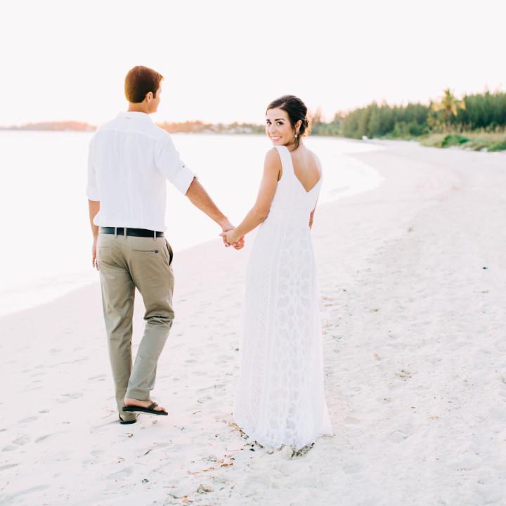 Natalia and Robby - Banana Bay, Bahamas - {Bahamas Destination Wedding Photographer}
