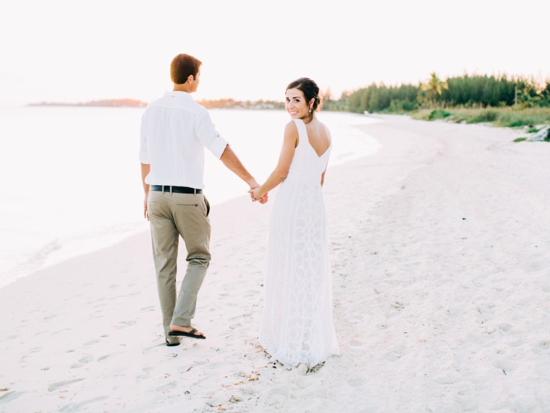Natalia and Robby - Banana Bay, Bahamas - {Bahamas Destination Wedding Photographer}