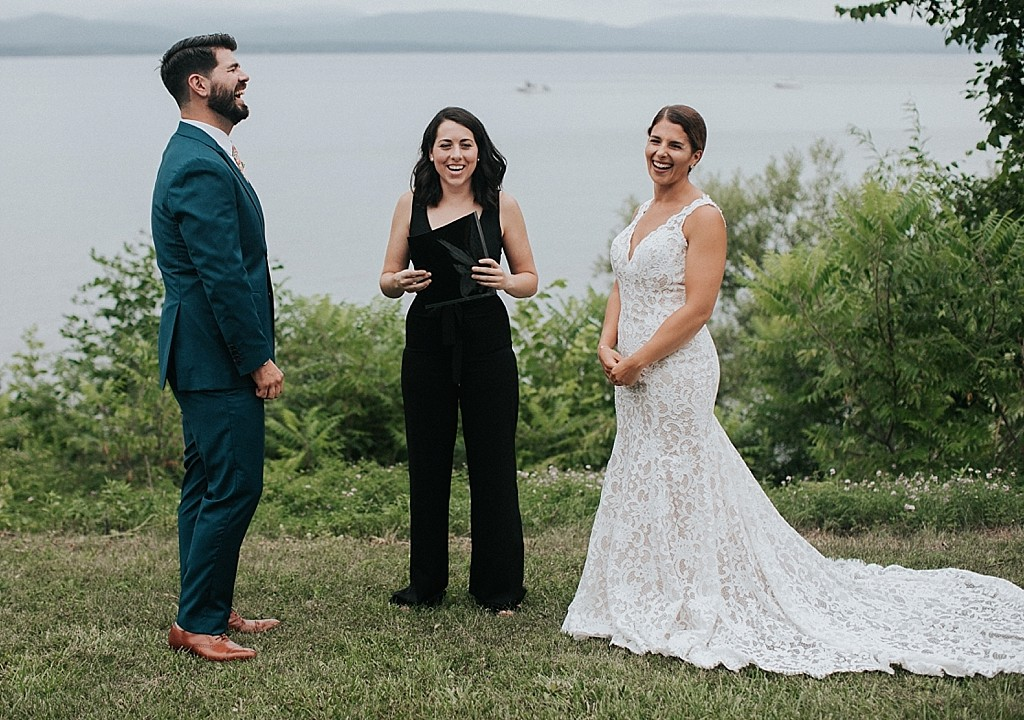 lake side burlington elopement