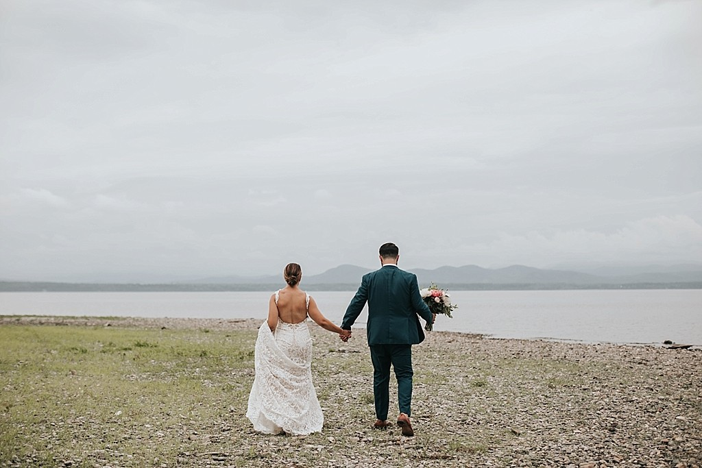 lake champlain summer elopement