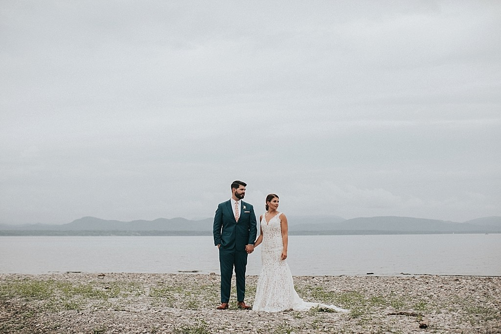 romantic mountain elopement