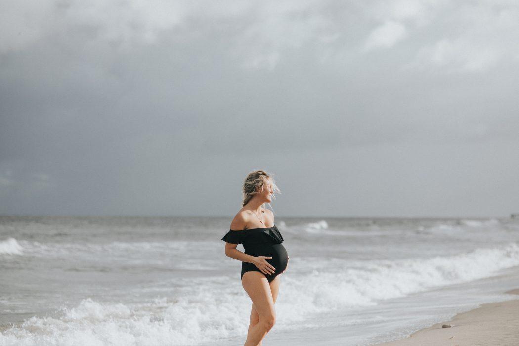 south florida beach maternity portraits
